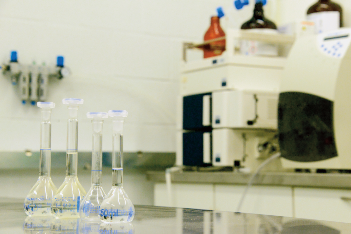 Our lab is provided with extensive analytical