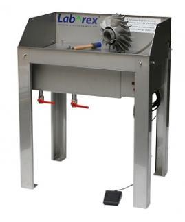 Watergedragen onderdelenreinigingstafel type 1240 RVS-W/E